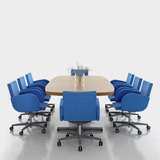 Series[f] - Conference tables (Education furniture)